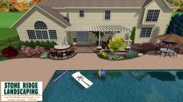 Pool Grill Kitchen Patio Paver